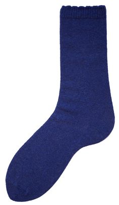 Women's Wool + Cashmere Trouser Scallop Edge Socks