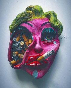 Clay Art Projects, Ceramics Projects, Clay Crafts, Trippy Painting, Stoner Art, Hippie Art, Diy Canvas Art, Art For Art Sake, Sculpture Clay