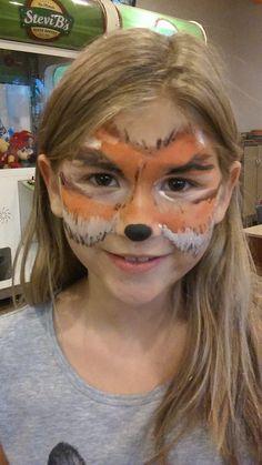 #foxfacepaint Fox Face Paint, My Girl, Body Art, Dress Up, Stone Soup, Activity Board, Costumes, Hadley, Halloween