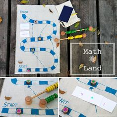 As you could probably tell, we're on a bit of a math bent this week with our geometry cookie bars, and the Ruler and Compass book giveaway, so it seemed fitting to end the week with a DIY math game! Pop over to blog to get all the details <3