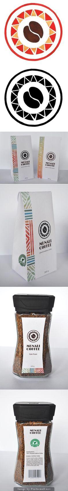 Coffee Re-Branding. Munali #coffee rebranded #packaging PD
