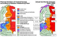 Planned Division of Central Europe according to Molotov-Ribbentrop Pact (Nazi-Soviet Pact) signed in 23 August 1939 Century, Europe, Germany, Poland, Russia) World History, World War Ii, Ap European History, Operation Barbarossa, Invasion Of Poland, Central And Eastern Europe, The Third Reich, Historical Maps, Soviet Union