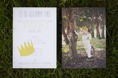 Where the Wild Things Are-themed birthday party...adorable!