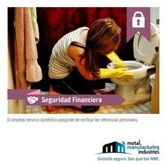 Dirigimos este tip de #Seguridad a quienes cuenten con servicio doméstico. No está por demás...