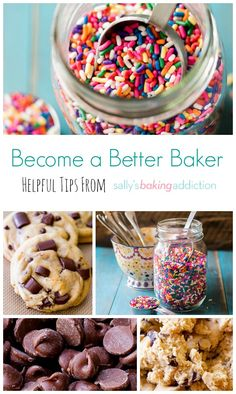 Baking Basics: Top 10 Baking Tips. More Baking Tips, Sallysbakingaddiction With, Tops 10, Baking Basic, Helpful Tips, SallyS Baking Addiction, 10 Baking, Better Baker, Baking Sweet Tips: Baking Basics: Top 10 Baking Tips | Sallys Baking Addiction Become a Better Baker with these 10 helpful tips from sallysbakingaddiction.com Become a better baker with these 10 useful and practical (and crucial!) baking tips! #DIY #baking #sweet