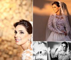 Noiva | Bride | Vestido | Dress | Vestido de noiva | Wedding dress | Bride's dress | Inesquecivel Casamento | Renda | Rendado | Vestido rendado | Véu | Véu de noiva | Grinalda | White dress | Vestido bordado | Bordado | Vestido branco | Vestido de manga comprida