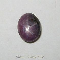 batu Mulia Ruby Star 9 carat motif serat unik