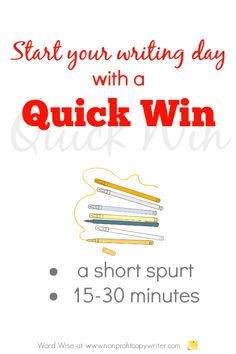 Start your writing day with a quick win with Word Wise at Nonprofit Copywriter WritingLife