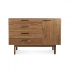 Shale 4 Drawer 1 Door Sideboard