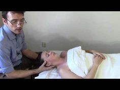 Massage Tutorial: Myofascial release for TMJ/jaw pain - YouTube