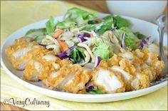 Applebees Copycat Asian Chicken Salad from Very Culinary
