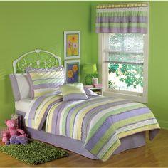 My World Anna's Ruffle Bedding Quilt Set - foster girls?