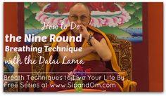 Meditation the Dalai Lama uses to calm himself when stressed