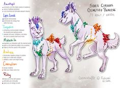 || AUCTION INFOS/FAQ/RULES - > ~ADOPTABLE RULES~ || there she is! the Great Mother of chakra gemstaffs . 7 kinds of gems grow at her body, balancing all chakras. tr...