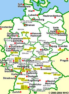 map of major cities in Germany | Germany in 2018 | Pinterest ...