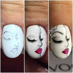 Latest nail trends the furry nails have taken the nails art to a whole new level. Not so many years have passed since women started experimenting new trend. Pretty Nail Art, Beautiful Nail Art, Nail Art Hacks, Easy Nail Art, Nail Art Designs Videos, Nail Designs, Nail Art Dessin, Nail Art Techniques, Nail Art Designs