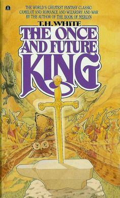 The Once and Future King by T. The Best Arthurian Story Ever Written. In my opinion, one of the best books ever written. Definitely one of my all-time favorites. Love Book, This Book, Books To Read, My Books, Teen Books, Books Everyone Should Read, Fantasy Books, Fantasy Fiction, Book Authors