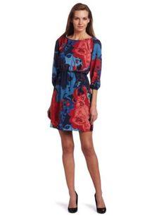 Mac & Jac Women's Marbled Crepe Dress