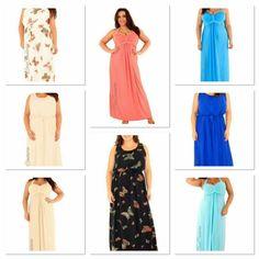 Plus size range : maxi dresses