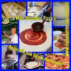 Con Le Mani. Smaakvolle Houtoven Pizza's voor uw Bedrijfs evenement, Golf clinic, Sportdag of Tuinfeest. Web Instagram User » Followgram