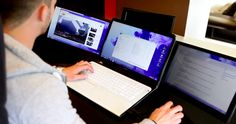 This Nifty Invention Doubles or Triples Your Laptop's Screen Real Estate
