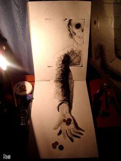 Les dessins trompe-l'oeil de Fredo