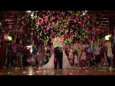The beautiful visual effects of our amazing confetti and streamer products create pure magic at your wedding!