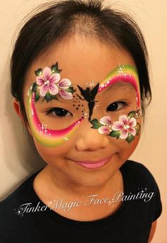 When you think about face painting designs, you probably think about simple kids face painting designs. Many people do not realize that face painting designs go beyond the basic and simple shapes that we see on small children. Face Painting Unicorn, Face Painting Flowers, Girl Face Painting, Face Painting Tips, Face Painting Tutorials, Face Painting Designs, Princess Face Painting, Rainbow Face Paint, Christmas Face Painting