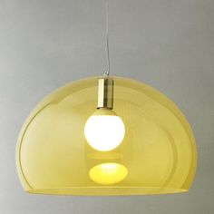 John Lewis Kartell FLY Ceiling Light in Yellow from John Lewis £156