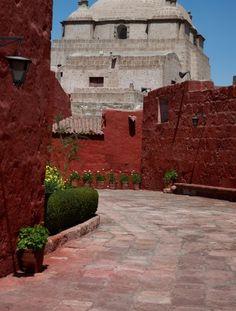 Santa Catalina Monastery in Arequipa, Peru. #arequipa #peru #monastery