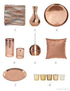 Copper Rose, Rose Gold, Copper Desk Accessories, Cozy Living, Living Room, Copper Interior, Copper Decor, Color Plan, Gold Home Decor