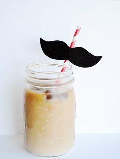 Mustache Straws Stache Bash Collection by GreySkiesBlue on Etsy, $15.00