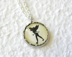 Tinkerbell's Shadow Petite Necklace  Inspired by TheGreenDaisyShop, $15.00
