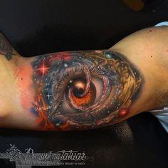 Oko z galaktyką