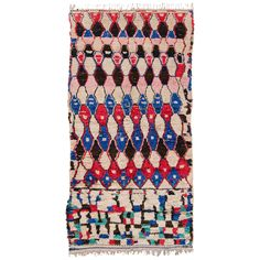 Vintage Moroccan Azilal Carpet | https://www.1stdibs.com/furniture/rugs-carpets/moroccan-rugs/