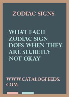 What Each Zodiac Sign Does When They Are Secretly Not Okay – Catalog Feeds #Pisces #zodiac_sign #zodiac #astrology #facts #horoscope #zodiac_sign_facts #zodiacsigns #Zodiac #Zodiacsex #Zodiacsigns #Aries #Taurus #Gemini #Cancer #Leo #Virgo #Libra #Scorpio #Sagittarius #Capricorn #Aquarius #Pisces #zodiacsymbols #Zodiacales #Astrology #Zodiacastology
