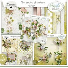 collection The Beauty of Nature by Célinoa's Designs http://digital-crea.fr/shop/index.php?main_page=product_info&cPath=155_332&products_id=19672