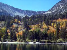 Rock Creek Lake, above Tom's Place, near Bishop, California