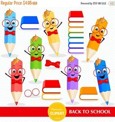 80% OFF SALE Back to school clipart, Pencils clipart, School images, Teacher clipart, Commercial use - CA473 by PremiumClipart on Etsy https://www.etsy.com/uk/listing/458174866/80-off-sale-back-to-school-clipart