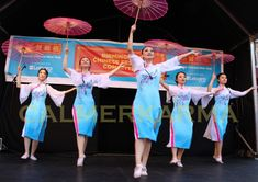 chinese new year themed entertainment to hire umbrella dancers london manchester birmingham