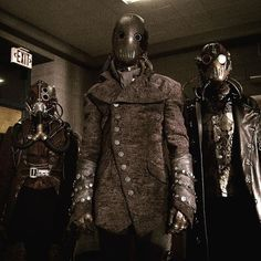The Dread Doctors - Teen Wolf Season 5 Teen Wolf Season 5, Halloween Costumes For Teens, Adult Costumes, Woman Costumes, Couple Costumes, Pirate Costumes, Group Costumes, Wolf Makeup, Dread Doctors
