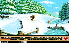 Winter Games (Commodore Amiga). Winter Games was great, loved all the events.