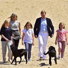 Dutch Royal Family vacation 2015