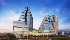 Galaxy Group launches a new commercial project Galaxy Blue Sapphire Plaza in Noida Extention, offers retail shops, office space with all modern features. Top Banks, Real Estate Development, Commercial Real Estate, Retail Shop, Real Estate Investing, Blue Sapphire, Skyscraper, Architecture, Arquitetura