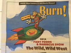 Go the Fiery Foods Show. Hot, delicious & hotter!