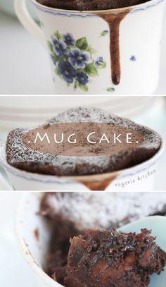 2-minute Chocolate Mug Cake recipe
