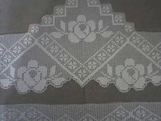 Crochet Edging Patterns, Crochet Lace Edging, Crochet Borders, Crochet Designs, Crochet Doilies, Knitting Patterns, Filet Crochet, Crochet Art, Different Stitches