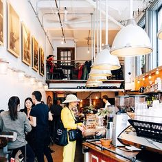 Pikolo Espresso Bar in Montreal // Photo by Inayali