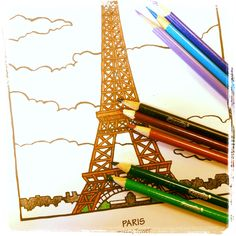 February 15, 2013, Photo of the day: C'est ma vie!: Youre never too old to color!