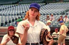 Remember Dottie? A League of Their Own is such a good movie.